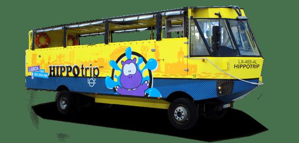 HIPPOtrip Veículo Anfíbio